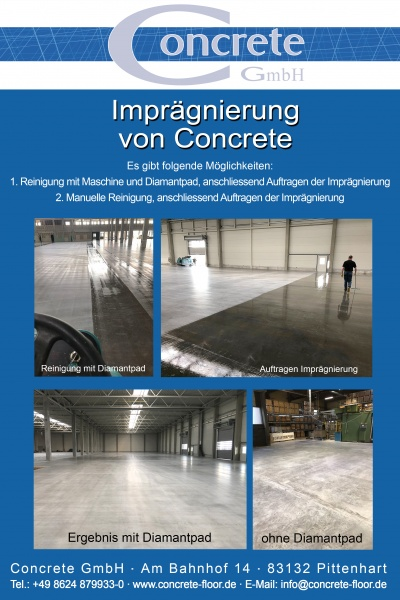 Flyer Concrete_Imprägnierung_Unterschied